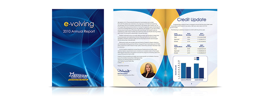 annual report Freedom Federal Credit Union