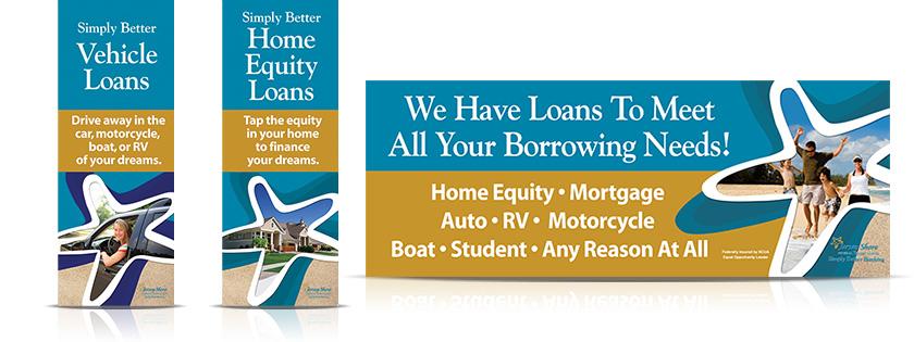 Loans Banners Signage JFCU