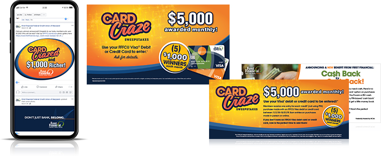 card craze campaign First Financial Federal Credit Union