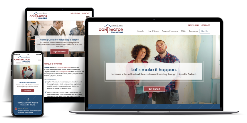 contractor website Lafayette Federal