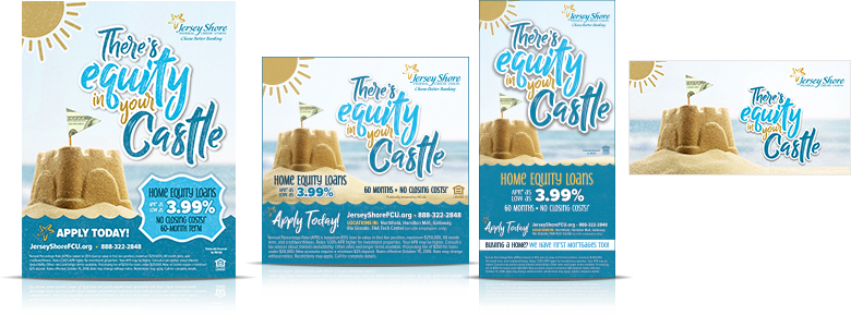 home equity campaign Jersey Shore Federal Credit Union