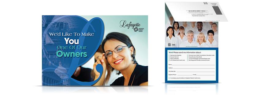 membership mailer Lafayette Federal