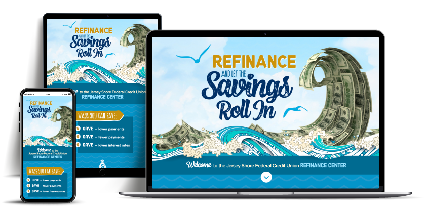 refinance website Jersey Shore Federal Credit Union