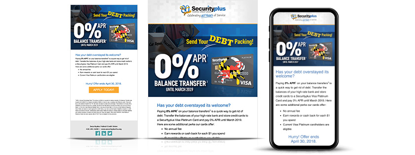 security plus federal credit union visa transfer