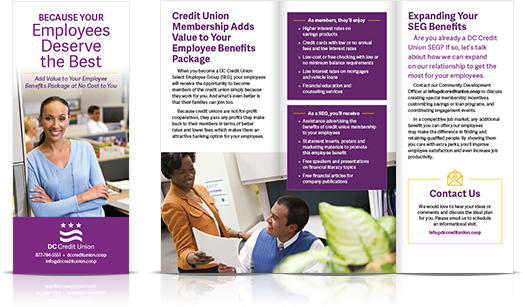 seg brochure District Government Employees Federal Credit Union