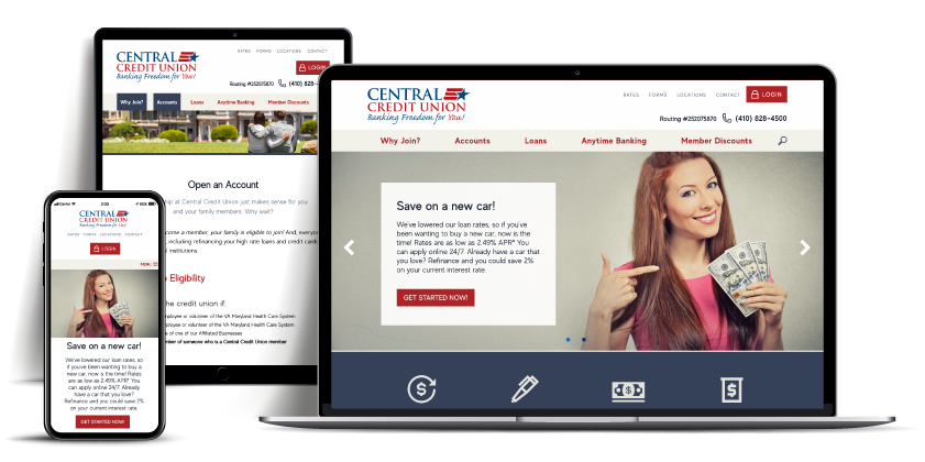 website Central Credit Union