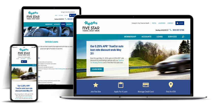 website Fivestar Federal Credit Union
