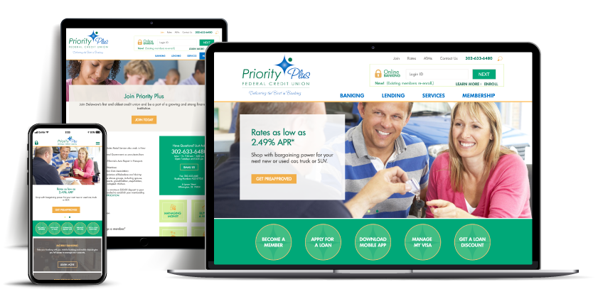 website Priority Plus Federal Credit Union
