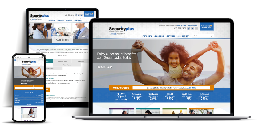 website Securityplus Federal Credit Union